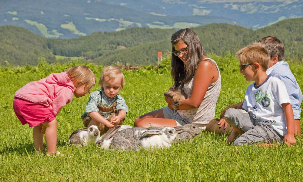 Kids vacation Castelrotto: a feast for children