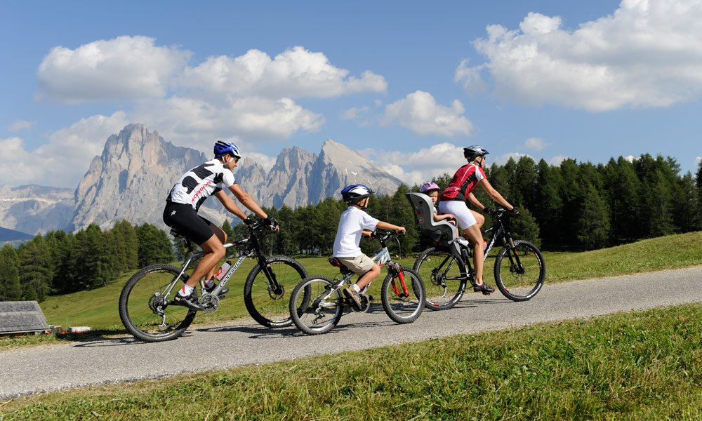 A bicycle holiday in South Tyrol at the farm Oberstampfeter Hof
