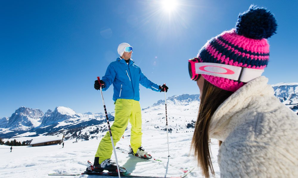 Following ski slopes await you in the surroundings of Castelrotto: